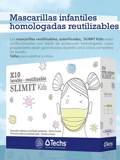 Protection hygienic mask - SLIMIT kids